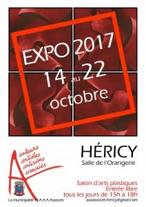 Salon d'automne des A.A.A.Associés @ Salle de l'Orangerie   Héricy   Île-de-France   France