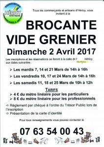 """Vide grenier """"Héricy, notre village"""" @ Centre ville   Héricy   Île-de-France   France"""