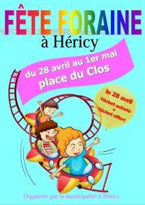 Fête foraine @ Place du Clos | Héricy | France