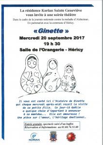 Ginette @ Salle de l'Orangerie | Héricy | Île-de-France | France