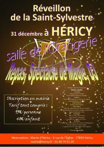 affiche St Sylvestre 2017