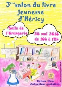Salon du livre jeunesse @ Salle de l'Orangerie  | Héricy | Île-de-France | France