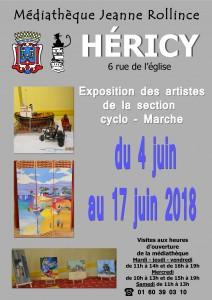 Exposition Cyclo-Marche @ Médiathèque Jeanne Rollince | Héricy | Île-de-France | France