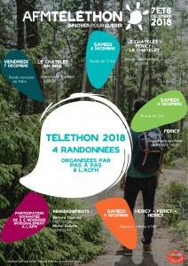 AFMTELETHON 2018 @ Héricy / Féricy