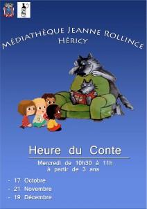 Heure du Conte @ Médiathèque Jeanne Rollince | Héricy | Île-de-France | France
