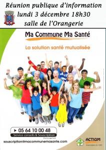 Réunion publique d'information Ma Commune Ma Santé @ salle de l'Orangerie  | Héricy | Île-de-France | France