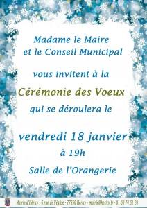 Cérémonie des Voeux @ Salle de l'Orangerie  | Héricy | Île-de-France | France