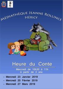 Heure du Conte @ Médiathèque
