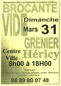 Brocante - Vide Grenier @ Centre Ville