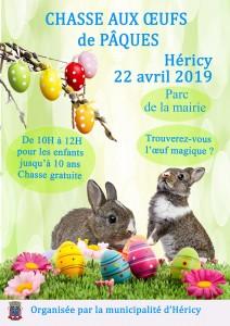 Chasse aux œufs de Pâques @ Parc de la mairie