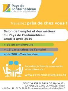 Salon de l'emploi et des métiers du Pays de Fontainebleau @ La maison dans la vallée