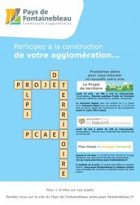 Réunion Publique pour le Projet de Territoire @ Salle 4 au CinéParadis