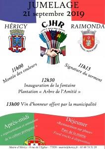 Jumelage Héricy - Raimonda @ Mairie d'Héricy