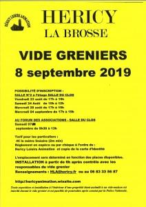 VIDE-GRENIERS ( La Brosse ) @ La Brosse