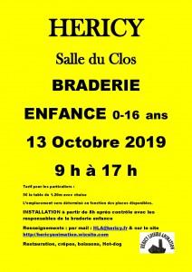 BRADERIE ENFANCE de 0-16 ans @ Salle du Clos