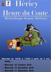 Heure du Conte @ Médiathèque Jeanne Rollince