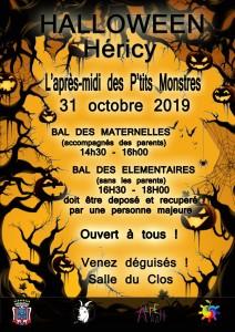 Halloween @ Salle du Clos