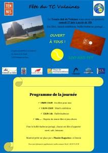 Fête du Tennis club de Vulaines @ Complexe sportif Pierre de Coubertin